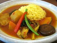 魚と野菜のカレー(辛さ普通)