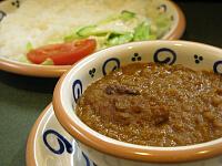豆カレー(ライス)
