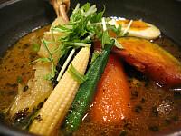 スープカレー(チキン、黄色、2番)