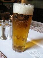 本場のピルスナービール(チェコビール)