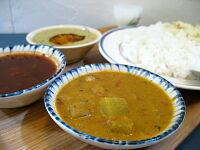 南インドカレー定食