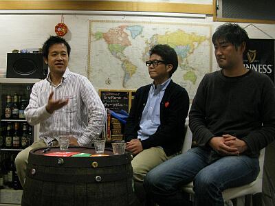 佐谷さん、木部さん、清川さん