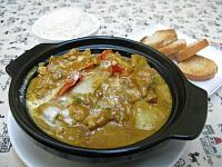 チキンカレー(鍋)