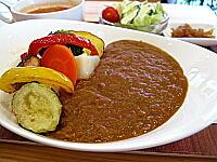 青山野菜カレー(野菜をいただくスープ付き)