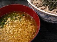 冷やしカレーつけ麺(そば)