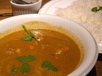 南インド風チキンカレー