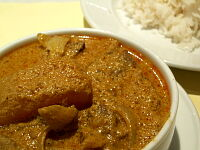 Curry Ox-Tongue With Rice