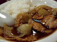 カレー肉飯