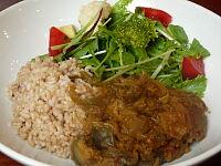 レンズ豆と秋野菜のカレー