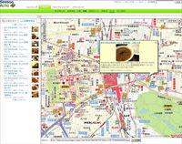 地図(「記事を見る」の画面)