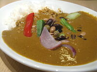 五種類の豆カレー(白米)