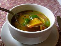 本日のスープ(チキン・ショルパ)