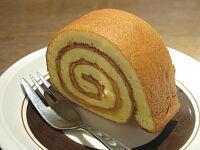 塩バターキャラメルのロールケーキ(冷製)