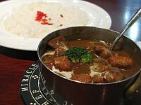 唐揚椰香鶏肉カレー
