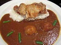 宮崎産日南鶏のもも肉 油淋鶏カレー