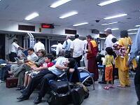 デリーの国内線空港