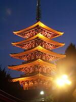 浅草の五重塔