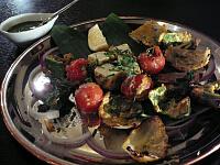 野菜とパニールの焼きもの