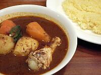 ゴロゴロ野菜と鳥肉のカレー