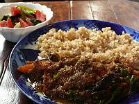 野菜カレー(サラダ付き)