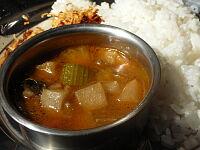 スリランカ風野菜カレー