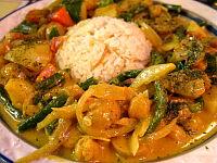 オスマン野菜カレー