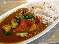 地中海野菜カレー(キーマ)