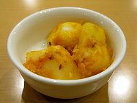サラダ代わりのジャガイモの香味炒め